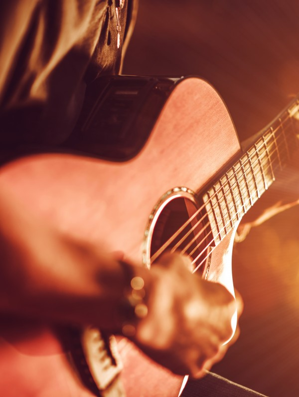 Acoustic Guitar Live @Freepik