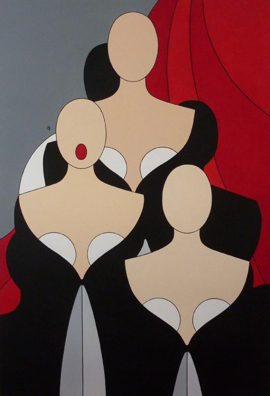 Sofitel Quiberon Catherine BERTAUD - Opéra - 90x130 cm