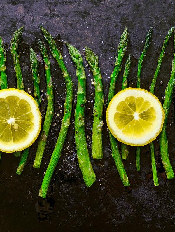 asparagus & lemon