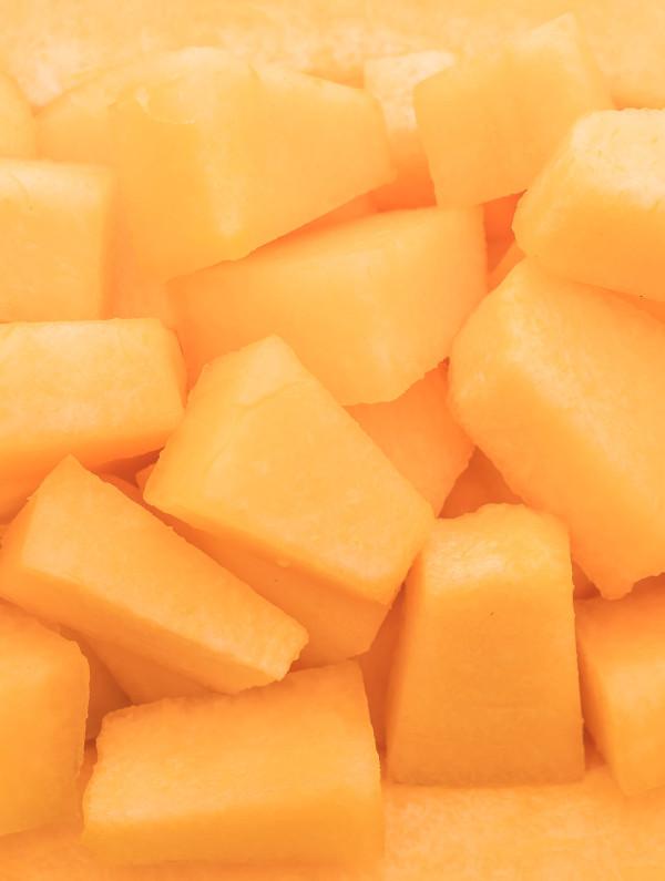 fresh melon for dessert