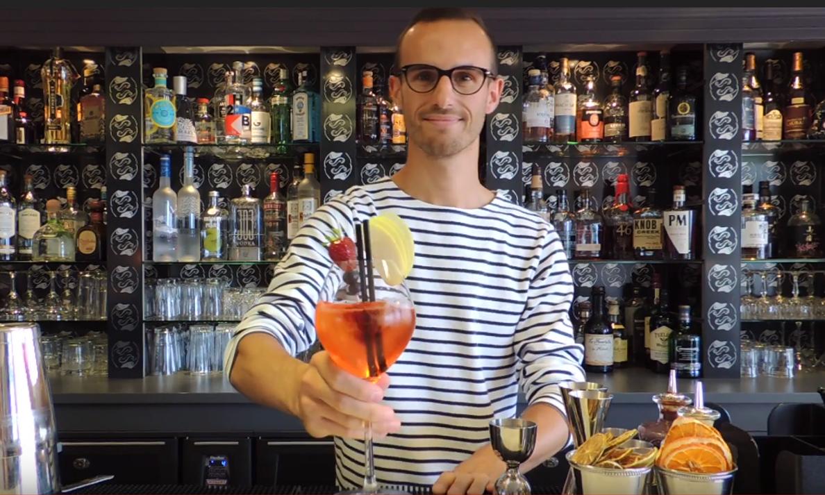 Martin barman KibSpritz SofitelQuiberon
