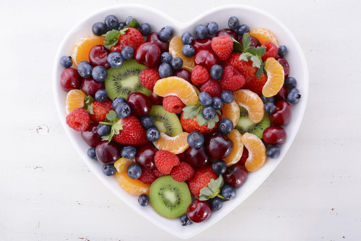 Colorful rainbow fruits - 123RF
